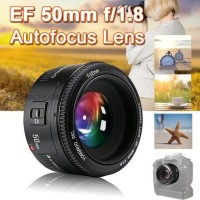 Yongnuo 50MM F1.8 AF/MF Prime Fixed Lens For Canon 6D 7D 60D 70D 700D