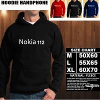 JAKET HOODIE Handphone NOKIA 112 Font/SWEATER/No Zipper/Gadget/Hp