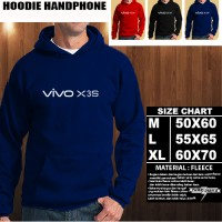 JAKET HOODIE Handphone VIVO X3s Font/SWEATER/No Zipper/gadget/Hp