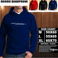 JAKET HOODIE Handphone VIVO X5 Max+ Font/SWEATER/No Zipper/Gadget/Hp