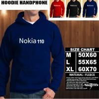 JAKET HOODIE Handphone NOKIA 110 Font/SWEATER/No Zipper/Gadget/Hp