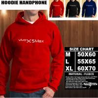 JAKET HOODIE Handphone VIVO X5 Max Font/SWEATER/No Zipper/Gadget/Hp