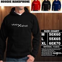 JAKET HOODIE Handphone VIVO Xshot Font/SWEATER/No Zipper/Gadget/Hp