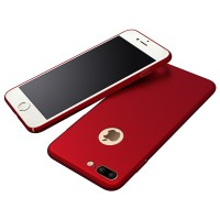 Jual Casing Cover iPhone 7 Plus Baby Skin Ultrathin Full Cover Hardcase Red Murah