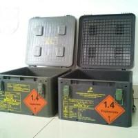 Box / Kotak Plastik Bekas Peluru Pindad Serbaguna