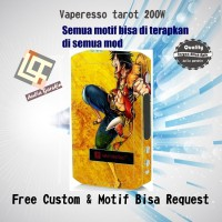 harga Garskin Vaperesso Tarot 200w Motif Rufi, Motif Bisa Request Tokopedia.com