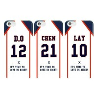EXO Love Me Right Versi 1 DO CHEN LAY Kpop Phone Case