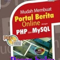 Harga buku pas mudah membuat portal berita online dengan php dan   antitipu.com