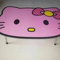 Jual meja lipat hello kitty pink Murah