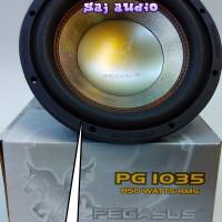 Subwoofer Kuat PEGASUS PG-1035 10inch Doublecoil 850watt Max