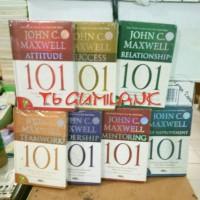 Seri 101 karya John C Maxwell ( 7 buku )
