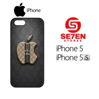 Case iPhone 5 5s Apple Gucci Custom Hard Casing Cover