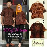 sogan set couple batik sogan