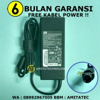 Adaptor Charger Laptop ORIGINAL HP 19V 4.74A 90W Jarum / Pin Central
