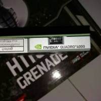 Murah VGA Nvidia Quadro 4000 2GB 256Bit DDR5 Workstation Render Oke