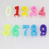 Lilin Angka Ulang Tahun Model Korea / Numeric Candle / Number Candle