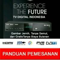 Jual Set Top Box Dvb T2 SkyBox H1 Tv Digital. ( GRATIS KABEL LOO OUT ) Murah