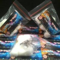 Jual Paket Hemat Prebuild Twisted 2x26 Awg + Organic Cotton Ball/vapor Murah