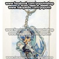 Keychain Vocaloid Snow Miku 2011
