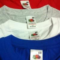 Jual Kaos Polos FRUIT OF THE LOOM FOTL Import Original Murah