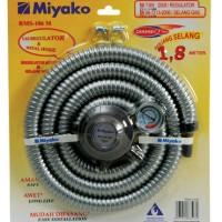 Miyako RMS-106M Regulator / Selang Gas