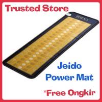 Jual Jeido Power Mat (Free Kalung + Gelang Black) Matras Terapi Kesehatan Murah