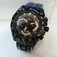 Jam Tangan Swiss Army 8709 Full Black