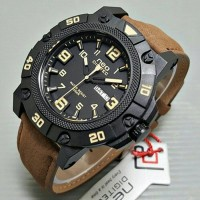 Jam Tangan Neo Digitec Kulit Brown
