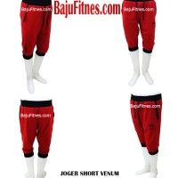 Baju Celana - JOGER SHORT VENUM RED & BLACK SHORT