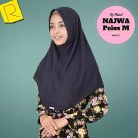 Jilbab Najwa Polos M / instan najwa / grosir jilbab / jilbab m Mura