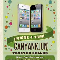 Harga iphone 4g 16gb gsm fu garansi distributor 1 | Hargalu.com