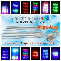 Meteor LED RGB LED SMD 2835 With 7 Special Effects 50 cm (10 Batang)