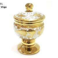 TOPLES Medalion Jar CR722L Motif VIRGO, ada ukuran S dan M :) VICENZA