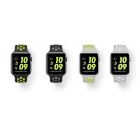 SALE Apple Watch Series 2 Nike + Sport Band / Strap Black Volt Silver V