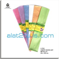 Crepe Paper Art Metallic / Kertas Krep V-tec PCP
