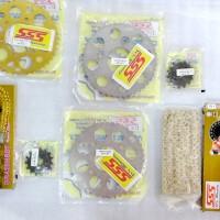 harga Gear Set Sss Untuk Honda, Yamaha, Suzuki, Kawasaki Tokopedia.com