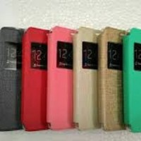 Ume Leather Flip Cover Casing Asus Zenfone 6 Casing Hp