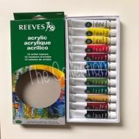ATK0296RV 12 warna Reeves Cat Acrylic Akrilik 8493200 artist colours