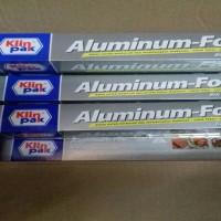 aluminium foil merek klin pak, pembungkus makanan