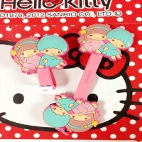 penggulung kable cable strap cord holder little twin stars SCA015