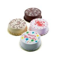 4 motif cetakan Cake Besar Happy Birthday Bunga Flower Balon Heart