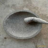 Batu Ulekan 1set Ukuran 30cm