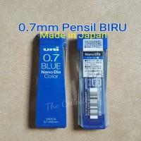 ATK282UN hasil tulisan warna BIRU isi pensil 0.7mm JAPAN mechanical