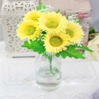 bunga plastik / bunga hias / bunga artificial daisi daisy A1