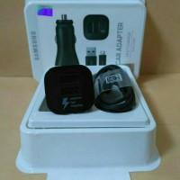 Car Adapter / Charger Mobil Samsung Dual Car Fast Charging Original