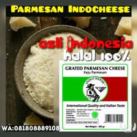 Parmesan KEJU INDO (Asli Indonesia-Kualitas Eropa-Rasa Italia-HALAL)