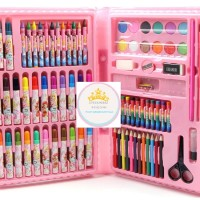 Jual 68 pcs | pensil warna, alat tulis set crayon, alat tulis set lukis Murah