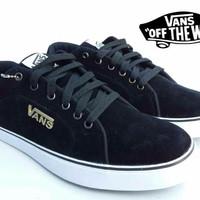 Jual sepatu Sepatu Pria Vans plate Sekolah/Santai Sepatu murah