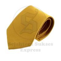Jual dasi formal import pria motif garis kecil warna emas sse store Murah