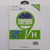 Hippo Sapphire Iphone 6+ 6S+ Plus 3D Warna Hitam